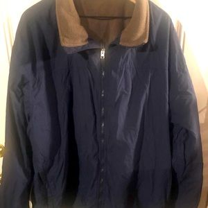 Columbia Fleece Lined Water Resistant Coat